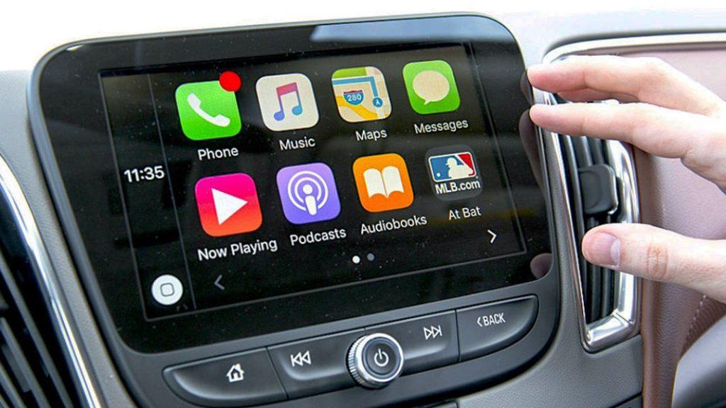 2 din autoradio Apple Carplay